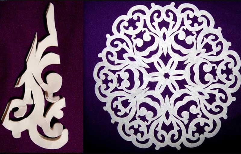 Как сделать снежинки ажурные из бумаги
