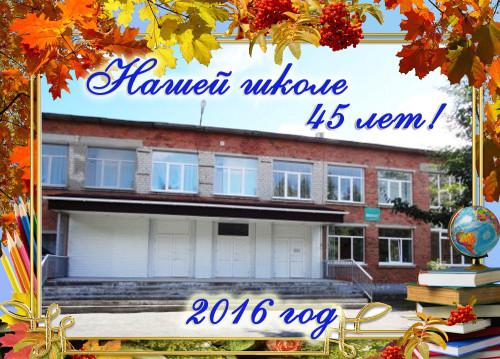 школе 45