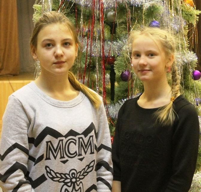 Соколова Елизавета и Миронова Анастасия
